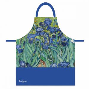 """Tablier """"Les Iris"""" de Van Gogh"""