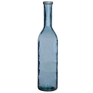 Bouteille en verre bleu Rioja - 100 cm