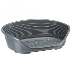 Corbeille Siesta Deluxe 12 - Ferplast - 111 x 80,5 x h 33,5 cm - Gris