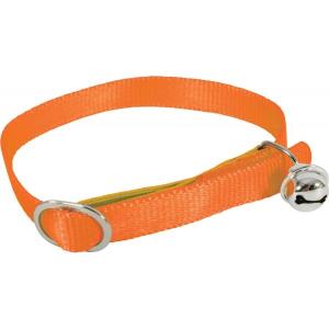 Collier Nylon pour chat - Zolux - Réglable - Orange