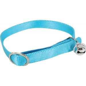 Collier Nylon pour chat - Zolux - Réglable - Bleu turquoise