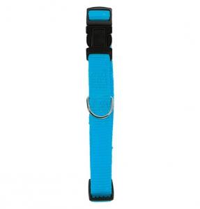 Collier Nylon réglable pour chien - Zolux - 40 mm - Bleu Turquoise