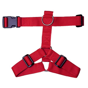 Harnais Nylon pour chien - Zolux - 25/35 cm - Rouge
