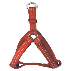 Harnais réfléchissant Reflex Cushion pour chien - Zolux - 25 mm - Rouge