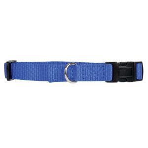 Collier Nylon pour chien - Zolux - 20 mm x 40/50 cm - Bleu