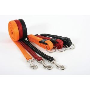 Collier réglable Reflex Cushion pour chien - Zolux - 20 mm - Noir