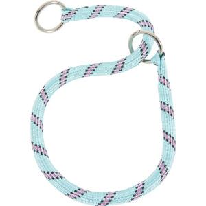 Collier Nylon Corde étrangleur pour chien - Zolux - 65 cm - Bleu Turquoise