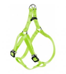 Harnais Nylon Baudrier pour chien - Zolux - 10 mm - Vert Anis