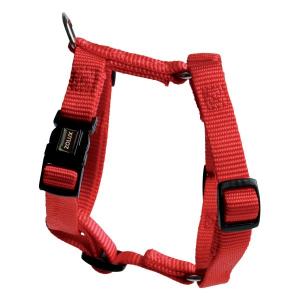 Harnais Nylon pour chien - Zolux - 50/95 cm - Rouge