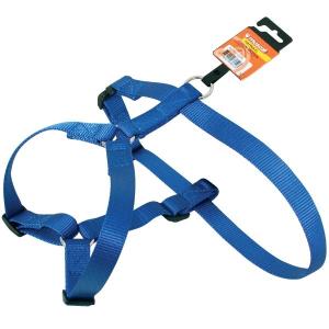 Harnais Nylon pour chien - Zolux - 40/60 cm - Bleu