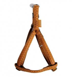 Harnais réglable Mac Leather pour chiens - Zolux - 10 mm - Jaune