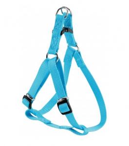 Harnais Nylon Baudrier pour chien - Zolux - 25 mm - Bleu Turquoise
