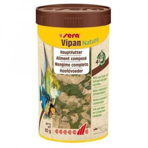 Alimentation pour poissons eau chaude -Vipan nature - Sera France - 250 ml