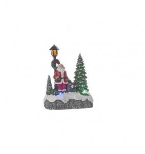 Décor de Noël Père Noël - Leds - 9,5 X 1 2,5 X 5,5 cm