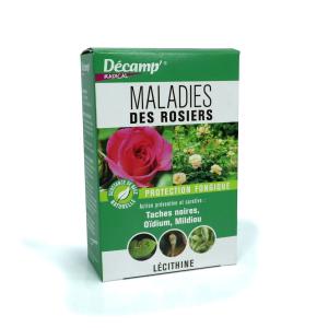 Maladies des rosiers  - Boïte 30ml - Décamp