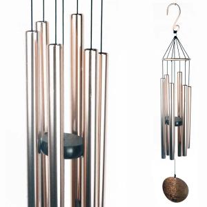 Carillon Auréole cuivré - 91 cm