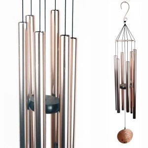 Carillon Auréole cuivré - 71 cm