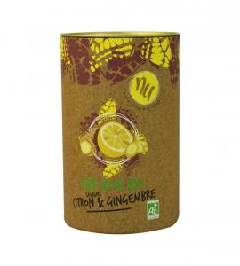 Thé noir citron et gingembre - Maison Taillefer - bio - 90 gr