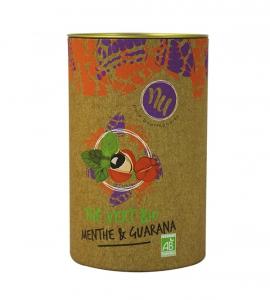 Thé vert menthe et guarana - Maison Taillefer - bio - 90 gr