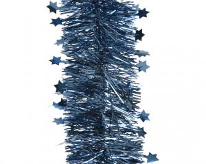 Guirlande à étoiles 4 plis - Bleu nuit - 2,70 m