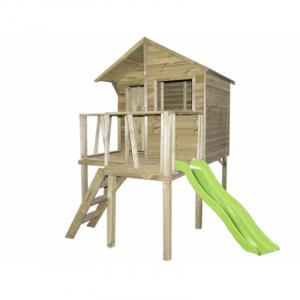 Maisonnette en bois Victor sur pilotis - Trigano - Pour enfants - 1,59 x 2,50 x 2,52 m