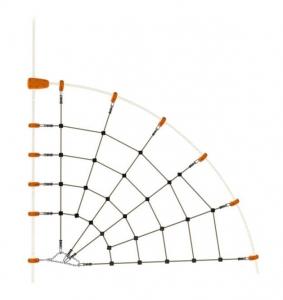 Toile géante araignée - Trigano - Pour structure de jeux EVO