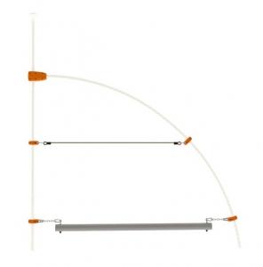 Rondin d'équilibre - Trigano - Pour structure de jeux EVO