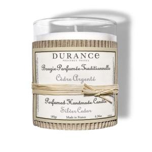 Bougie parfumée Cèdre argenté - 180 g -Durance