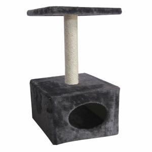 Arbre à chat Abey - Ebi - Gris - 60cm
