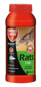 Pâte rats - Lieux secs et humides - 520g - Protect Expert
