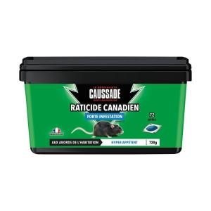 Raticide canadien en pâtes Pat'Appât - Caussade - 72 sachets de 10 g
