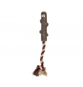 Jouet branche Woody + corde pour chien - Flamingo - En TPR -  18 cm