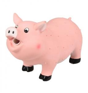 Jouet sonore pour chien Knor cochon - Flamingo - En latex - 22 cm