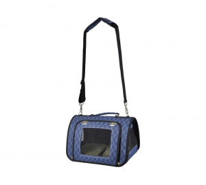 Sac de transport Audrey - Flamingo - 36 x 21 x 23 cm - Bleu