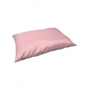 Coussin 'Gora' pour chiens - Flamingo - 80 x 60 x 15 cm - Rose/Gris