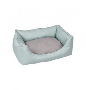 Panier rectangulaire 'Gora' pour chiens - Flamingo - 70 x 50 x 25 cm - Vert