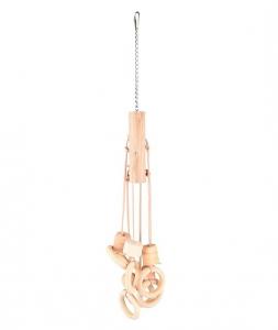 Jouet Jo Appi Anneaux pour perruche - Flamingo - 49 cm