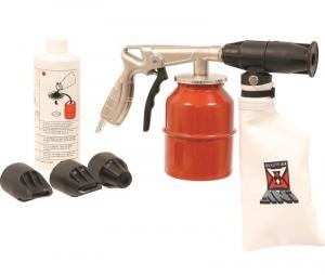 Kit Pistolet de sablage modèle professionnel - Sodise - Avec bidon de sable et 3 buses