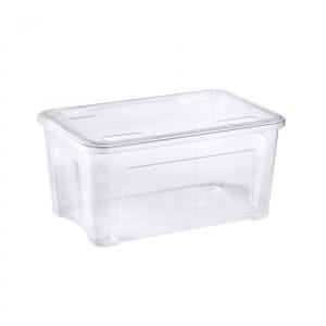Coffre de rangement avec couvercle encliquetable - Combi-box - 58 x 38 x h 28 cm - 43 L