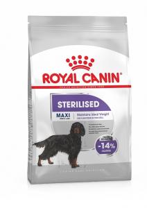 Croquettes Maxi Sterilsed pour chien - Royal Canin - 9 kg