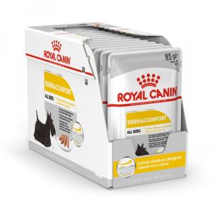 Boîte Dermaconfort en mousse pour chien - Royal Canin - 12 x 85 g