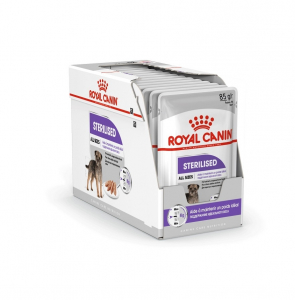Boîte Sterilised Care en mousse pour chien - Royal Canin - 12 x 85 g