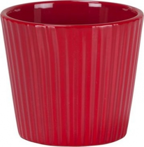 Cache-pot 937 - Deroma - Red - Ø 7 cm