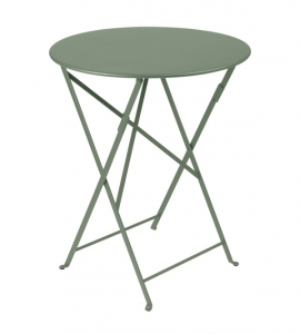 Table pliante Bistro - Fermob - Ø 60 cm - Vert Cactus