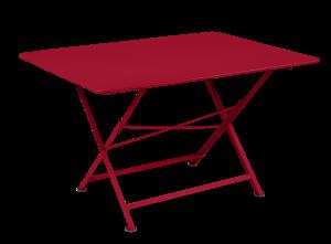 Table Cargo 128X90 - Fermob - Métal - Piment
