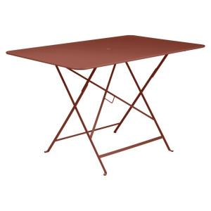 Table pliante Bistro - Fermob - 177 x 77 cm - Ocre Rouge