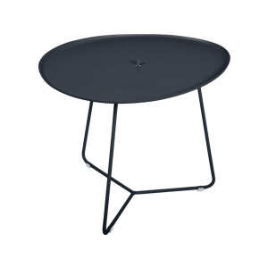 Table basse Cocotte plateau amovible - Fermob - 55 cm - Carbone