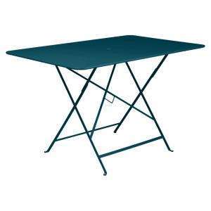 Table pliante Bistro - Fermob - 177 x 77 cm - Bleu Acapulco