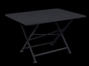 Table Cargo 128X90 - Fermob - Métal - Carbone