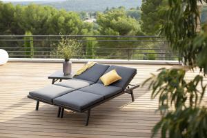 Bain De Soleil Convertible Polofa - LesJardins - Aluminium/Textile - Gris